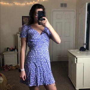 NWOT Free People Floral Mini Dress